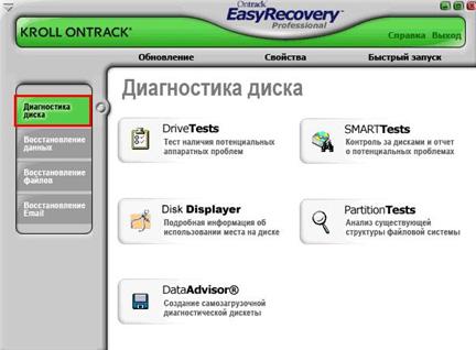 Easyrecovery - как пользоваться?