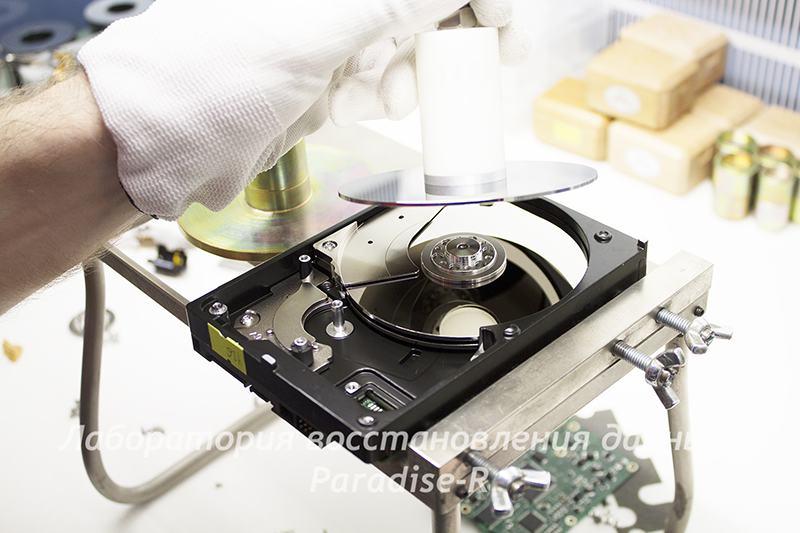 Восстановление данных с жестких дисков в городе Топки