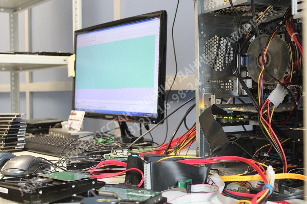 Восстановление данных с жесткого диска на комплексе PC-3000 в лаборатории Paradise-R